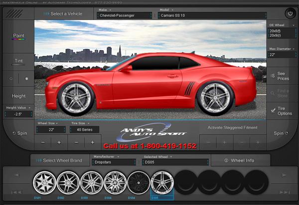 CAR MODIFIER - custom wheels/ride height/tire size - great ...